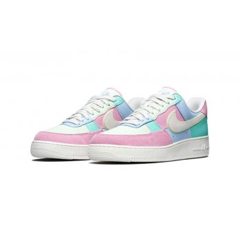 Scarpe Sneakers basse Nike Air Force 1 Low Easter Egg Ice Blue/Sail-Hyper Turq-Barely Volt