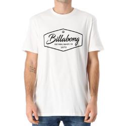 Abbigliamento Uomo T-shirt maniche corte Billabong N1SS15BIP9 Bianco