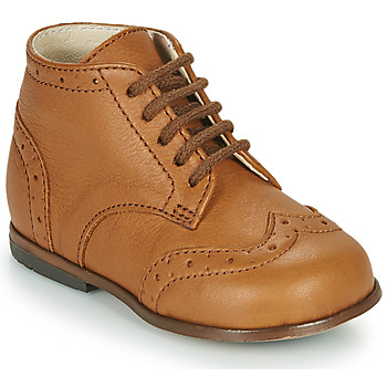 Scarpe Bambina Sneakers alte Little Mary LORD Marrone