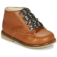 Scarpe Bambina Sneakers alte Little Mary JUDITE Marrone