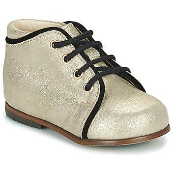 Scarpe Bambina Sneakers alte Little Mary MEGGIE Argento