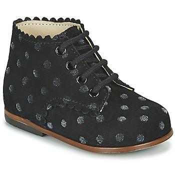 Scarpe Bambina Sneakers alte Little Mary VIVALDI Nero