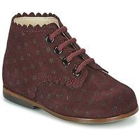 Scarpe Bambina Sneakers alte Little Mary VIVALDI Bordeaux