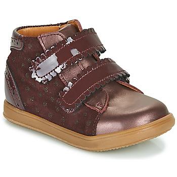 Scarpe Bambina Sneakers alte Little Mary CRISTIE Bordeaux