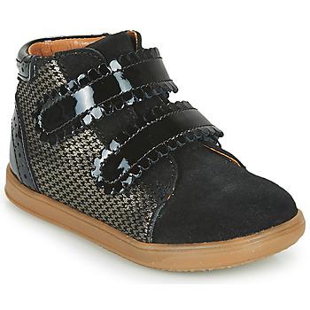 Scarpe Bambina Sneakers alte Little Mary CRISTIE Nero