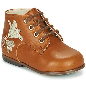 Scarpe Bambina Sneakers alte Little Mary MEIGE Marrone