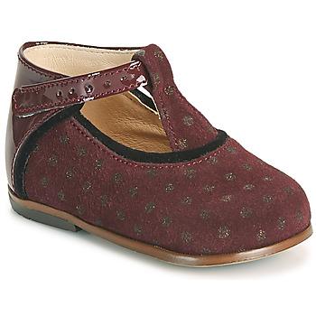 Scarpe Bambina Sneakers alte Little Mary BETHANY Bordeaux