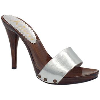 Scarpe Donna Zoccoli Kiara Shoes KM7202 Argento