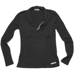 Abbigliamento Donna T-shirts a maniche lunghe Animagemella ATRMPN-23970 Nero