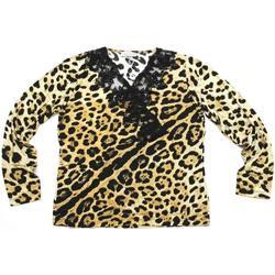 Abbigliamento Donna T-shirts a maniche lunghe Gianna Oddi ATRMPN-23973 Beige