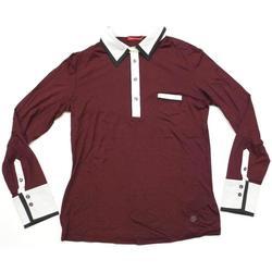 Abbigliamento Donna Polo maniche lunghe Diana Gallesi ATRMPN-23976 Rosso