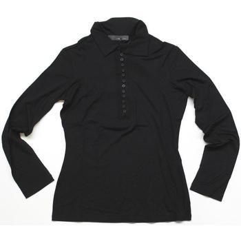 Abbigliamento Donna Polo maniche lunghe Diana Gallesi ATRMPN-23979 Nero