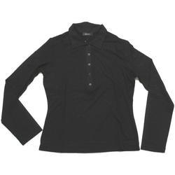 Abbigliamento Donna Polo maniche lunghe Diana Gallesi ATRMPN-23982 Nero