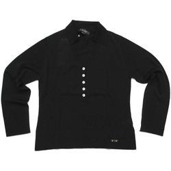 Abbigliamento Donna Polo maniche lunghe Diana Gallesi ATRMPN-23983 Nero