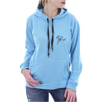 Abbigliamento Donna Felpe Goldenim Paris Sudore / Felpa zip 1130 - Donna blu