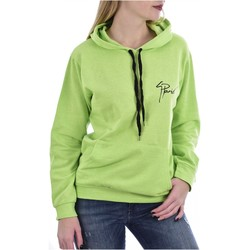 Abbigliamento Donna Felpe Goldenim Paris Sudore / Felpa zip 1130 - Donna verde