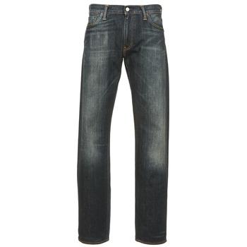 Abbigliamento Uomo Jeans dritti Levi's 504 REGULAR STRAIGHT FIT Blu / SCURO