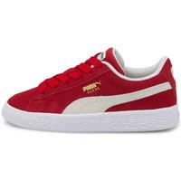 Scarpe Unisex bambino Sneakers basse Puma Suede classic xxi ps Rosso