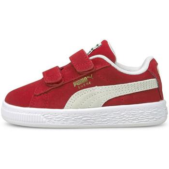 Scarpe Unisex bambino Sneakers basse Puma Suede classic xxi v inf Rosso