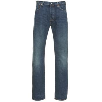 Abbigliamento Uomo Jeans dritti Levi's 501 THE ORIGINAL Blu / SCURO