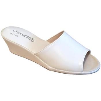 Scarpe Donna Ciabatte Milly MILLY103bia bianco
