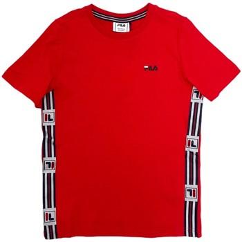 Abbigliamento Unisex bambino T-shirt maniche corte Fila 688118 Rosso