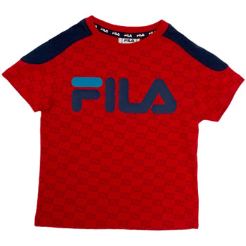 Abbigliamento Unisex bambino T-shirt maniche corte Fila 688077 Rosso