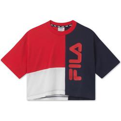 Abbigliamento Unisex bambino T-shirt maniche corte Fila 687998 Rosso