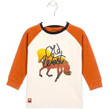 Abbigliamento Unisex bambino T-shirt & Polo Losan 025-1018AL Bianco