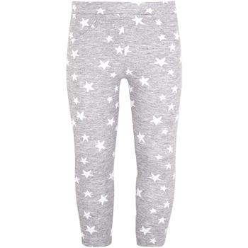 Abbigliamento Bambina Leggings Losan 026-6016AL Grigio