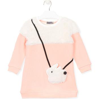 Abbigliamento Bambina Felpe Losan 026-7007AL Rosa