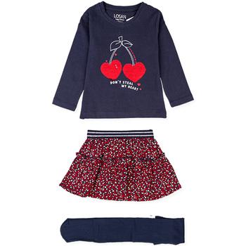 Abbigliamento Bambina Completo Losan 026-8023AL Blu