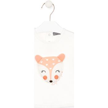 Abbigliamento Unisex bambino T-shirts a maniche lunghe Losan 028-1004AL Bianco