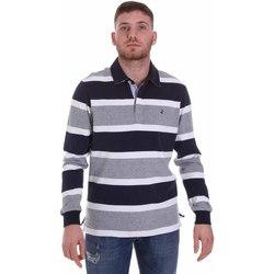 Abbigliamento Uomo Polo maniche lunghe Navigare NV30026 Blu