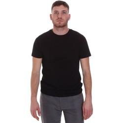 Abbigliamento Uomo T-shirt maniche corte Sseinse MI1692SS Nero