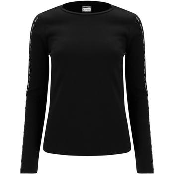 Abbigliamento Donna T-shirts a maniche lunghe Freddy F0WSDT6 Nero