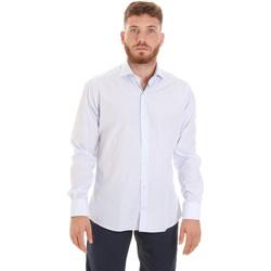 Abbigliamento Uomo Camicie maniche lunghe Les Copains 20P.922 P3196SL Bianco