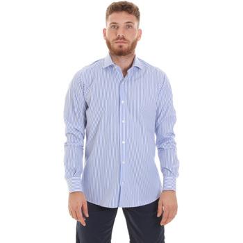 Abbigliamento Uomo Camicie maniche lunghe Les Copains 20P.623 P3196SL Blu