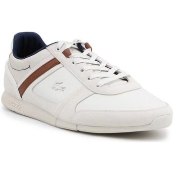Scarpe Uomo Sneakers basse Lacoste Menerva Bianco, Beige