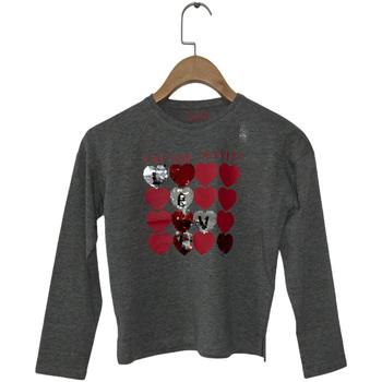 Abbigliamento Bambina T-shirts a maniche lunghe Losan 024-1206AL Grigio