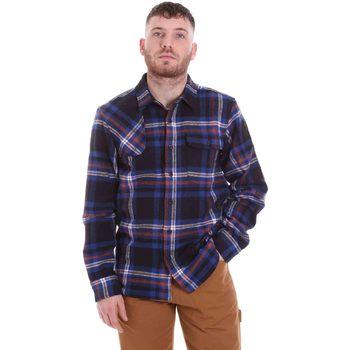 Abbigliamento Uomo Camicie maniche lunghe Dickies DK520352EL01 Blu