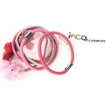 Bellezza Accessori per capelli Inca Elásticos rosa 6 Pz 6 u