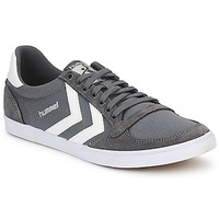 Scarpe Uomo Sneakers basse Hummel TEN STAR LOW CANVAS Grigio / Bianco