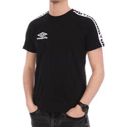 Abbigliamento Uomo T-shirt maniche corte Umbro 716640-60 Nero