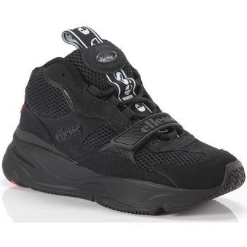 Scarpe Donna Sneakers alte Ellesse Aurano Mid Blk Nero