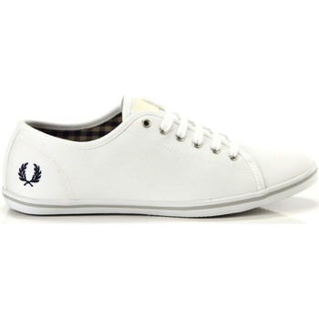 Scarpe Donna Sneakers basse Fred Perry Phoenix Canvas Bianco