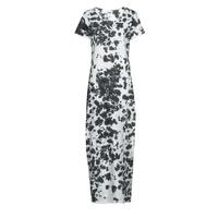 Abbigliamento Donna Abiti lunghi Yurban OVIZ Grigio / Bianco