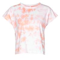 Abbigliamento Donna T-shirt maniche corte Yurban ONILA Bianco / Rosa