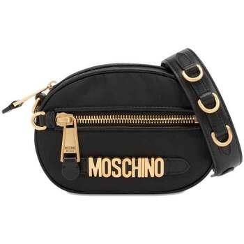 Borse Donna Tracolle Love Moschino Borsa tracolla con lettering Nero