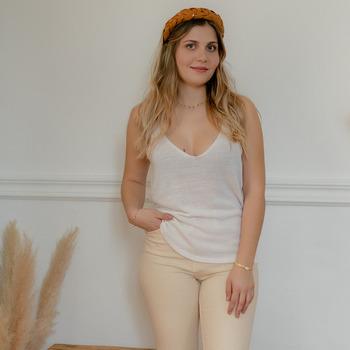 Abbigliamento Donna Top / Blusa Céleste INSEPARABLE Ecru